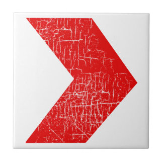 arrows red pattern tile