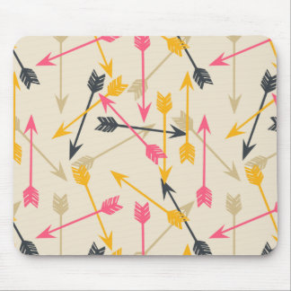 Arrows Scattered / Cream Southwest / Andrea Lauren Mouse Pad