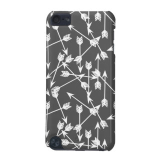 Arrows Scattered / Grey White / Andrea Lauren iPod Touch 5G Cover