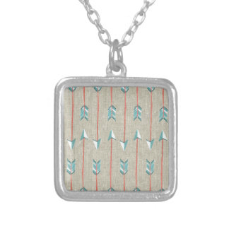 Arrows Silver Plated Necklace