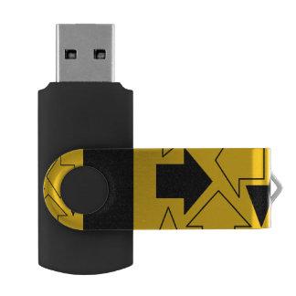 arrows USB 3.0 Flash Drive 16 GB Pink Swivel