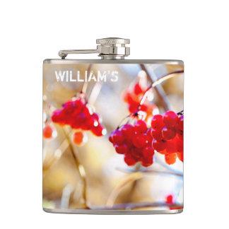 Arrowwood Berries Hip Flask