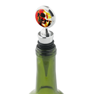 ARRRGGG!!! Pirate Skull Wine Stopper