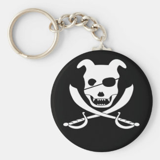 Arrrgh - It's the Doggy Roger Key Ring