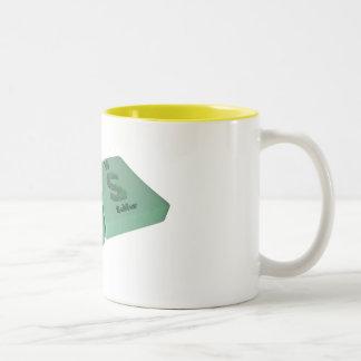 Ars as Ar Argon and S Sulfur Coffee Mug