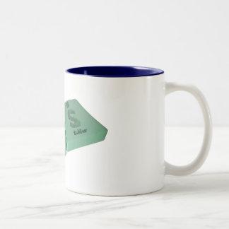 Ars as Ar Argon and S Sulfur Mug