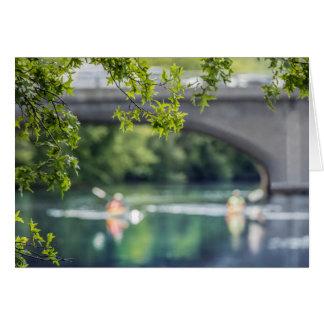 Arsenal Street Bridge, Charles River, Card