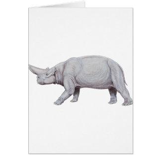 Arsinoitherium Card