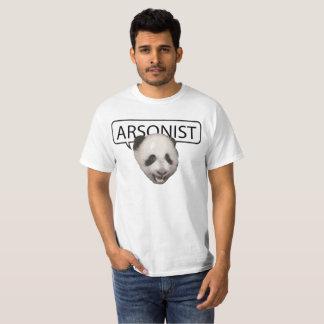 Arsonist Panda T-Shirt