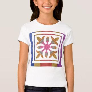 Art101 Color Co-ordinates - Silk Satin Floral Tees