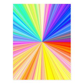 ART101 Color Wheel Postcard