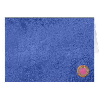 Art101 Gold Seal - Blue Berry Satin Silk Blanks Card