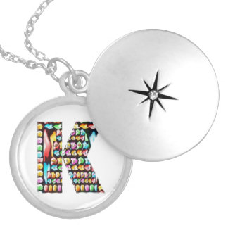 Art101  HappyBirthday Initial Kay Memorial Edition Pendants
