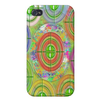 ART101 Red Bull Target Practice iPhone 4 Covers