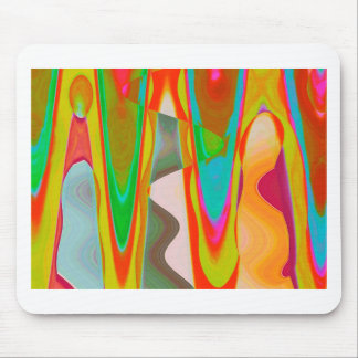 ART101 Shadow Talk Graphic Abstract Mouse Pad