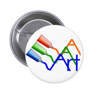 Art 6 Cm Round Badge