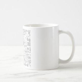Art a background2 basic white mug