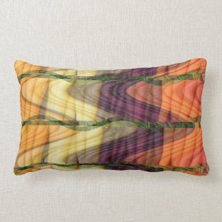 Art abstract from Colorful organic farm carrots 99 Lumbar Pillow