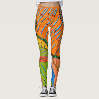 Art and clothes leggings