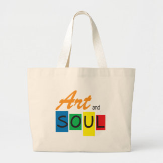 Art-and-Soul Large Tote Bag