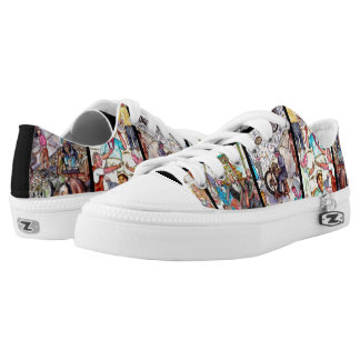 Art and Stories delivered with these sneakers... Low Tops