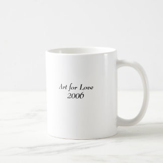 Art auction mug