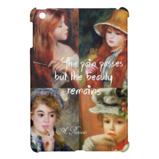 Art ,beauty and love in Renoir paintings iPad Mini Cover