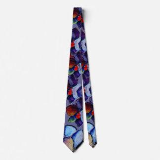 Art Blue Orchid Tie 2