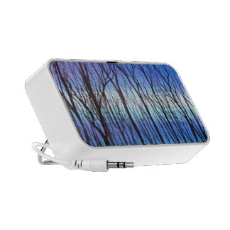 Art Blue Trees Speaker System