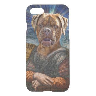 ART - BULLDOG MONA LISA iPhone 7 CASE