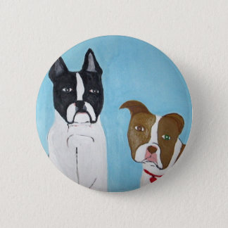 art by eric ginsburg 6 cm round badge