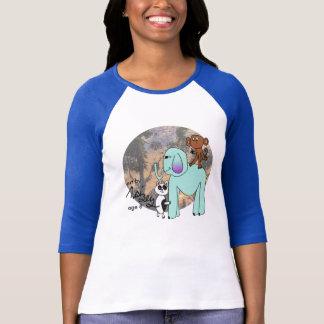 Art by Maizey - Animal Friends T-Shirt