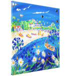 Art Canvas Print: Puffin Days Tresco, Scilly Isles Canvas Print