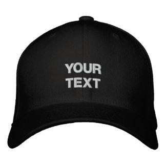 Art Cap Arty Clothes Badge Custom Text Embroidered Baseball Caps