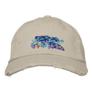 Art Cap: Tropical Moonlight Baseball Cap