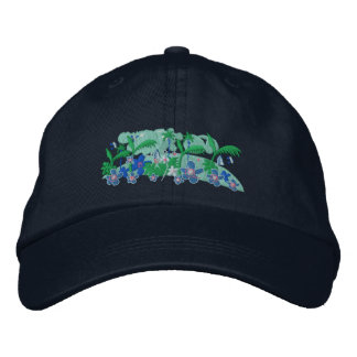 Art Cap: Tropical Moonlight - Twinkle Embroidered Hats