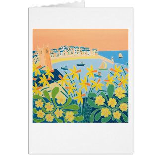 Art Card: A Burst of Daffodils, St. Ives Card