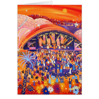 Art Card: Africa Calling, Eden Project Card