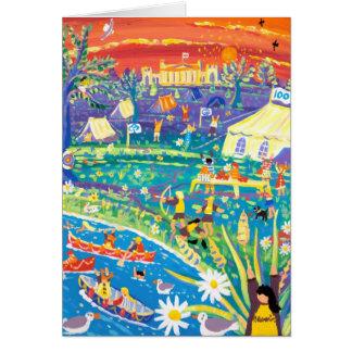 Art Card: Brownies 100 years of Fun! Centenary. Card