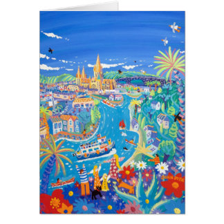 Art Card: Day Trip to Truro by John Dyer Card