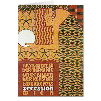 Art Card /Invitation: Vienna Secession Poster