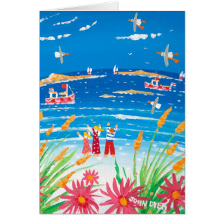 Art Card: Scilly Days, Isles of Scilly, Tresco Card