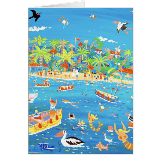Art Card: Tropical Wedding Card
