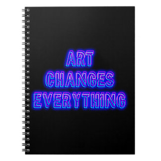 Art Changes Everything Notebooks