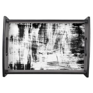 Art Charcoal Swatches Serving Tray