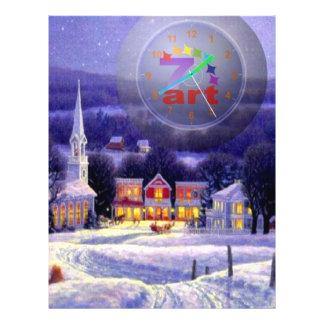 Art Christmas Full Color Flyer