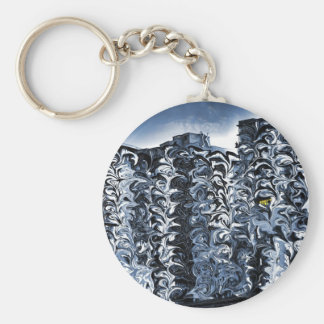 Art City Towers Basic Round Button Key Ring