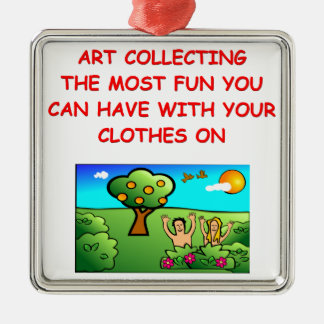 art collecting christmas tree ornaments