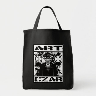 Art Czar Grocery / Tote Bag - Gas Mask #6