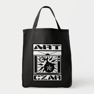 Art Czar Grocery / Tote Bag - Kill Your TV #1SB